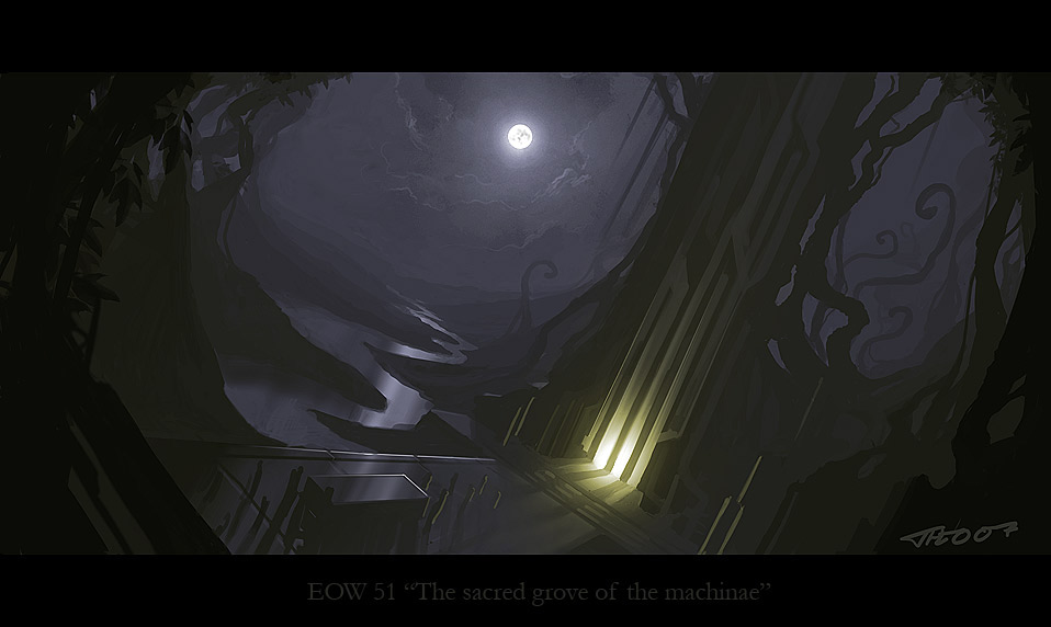 EOW#51 The Sacred Grove of the Machinae POLL (really!)